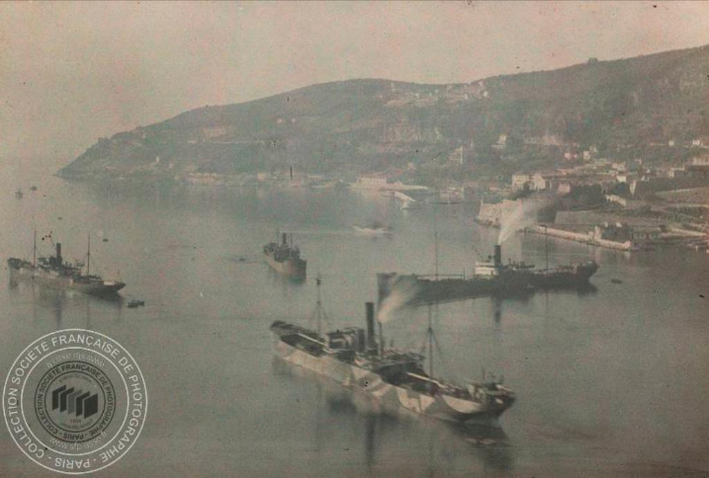 Photos couleur Villefranche 1910 Fn191010