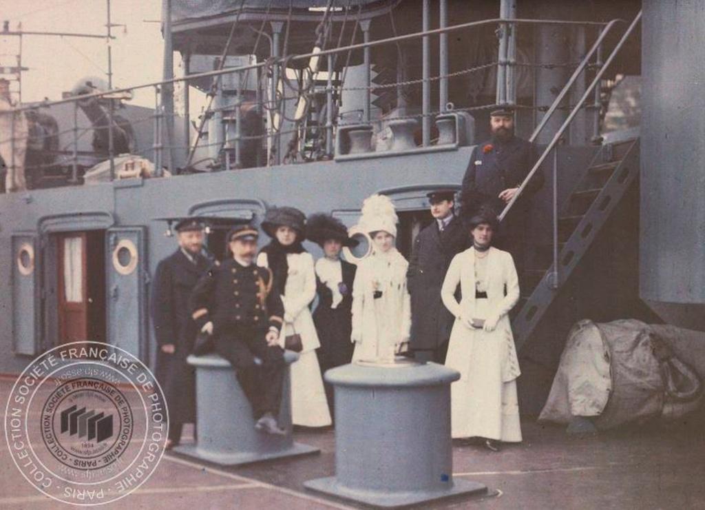 Photos couleur Villefranche 1910 Fn191011