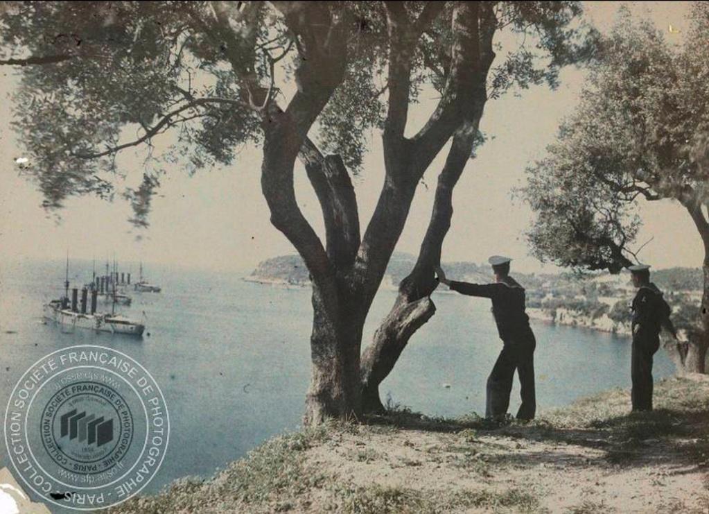 Photos couleur Villefranche 1910 Fn191015