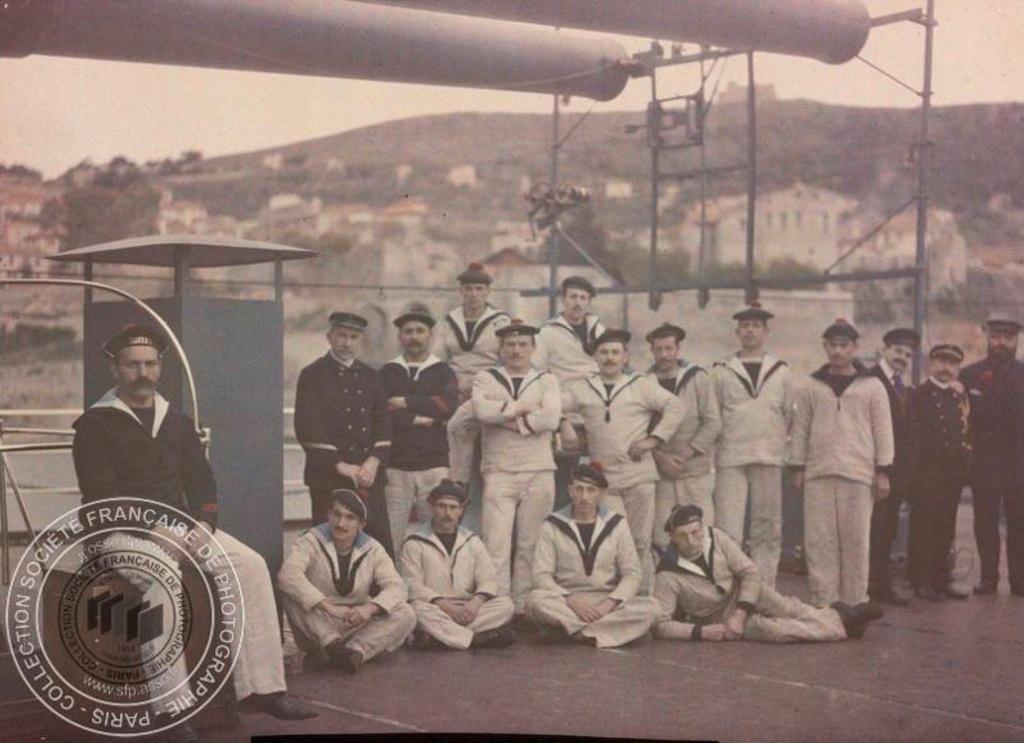 Photos couleur Villefranche 1910 Fn191016