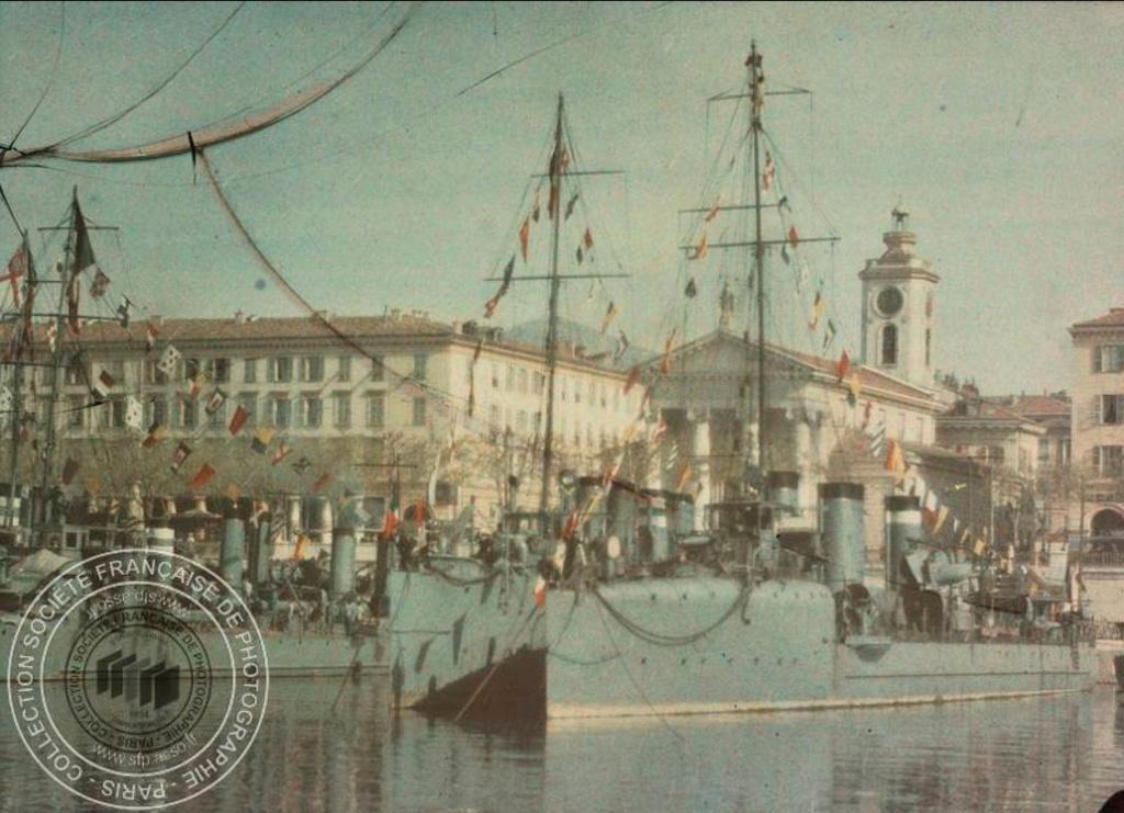 Photos couleur Villefranche 1910 Fn191018