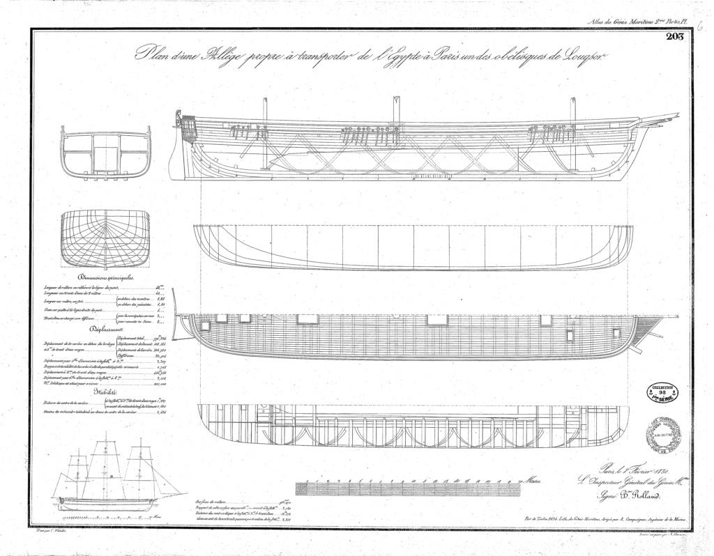 Transport de l'obélisque de Louxor : un défi technique digne de son époque Gm04pl10
