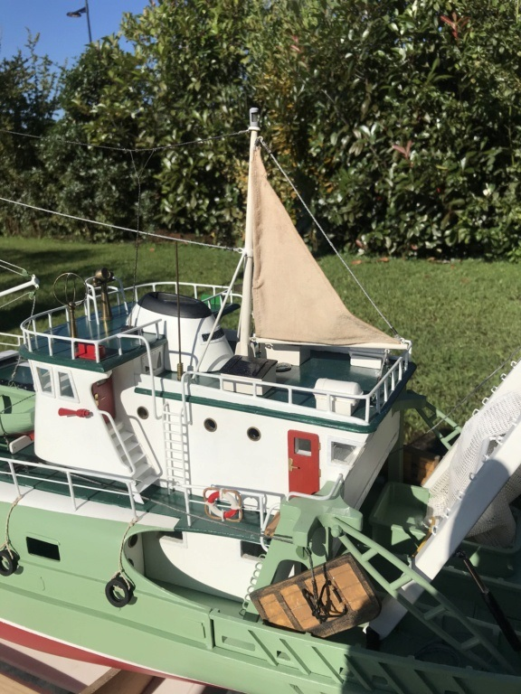 Chalutier Lutèce (Navig RC 1/30° terminé) de Bobber33 Lutece10