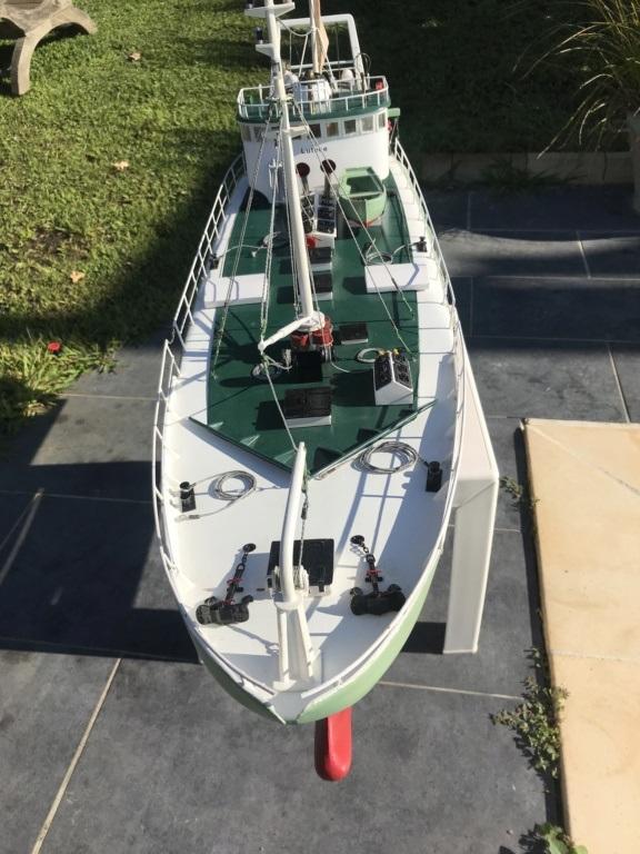 Chalutier Lutèce (Navig RC 1/30° terminé) de Bobber33 Lutece11