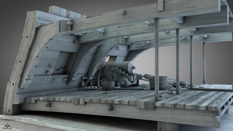 Maquettes et modélisme naval (bois, plastique,etc) - Portail Rendu_15