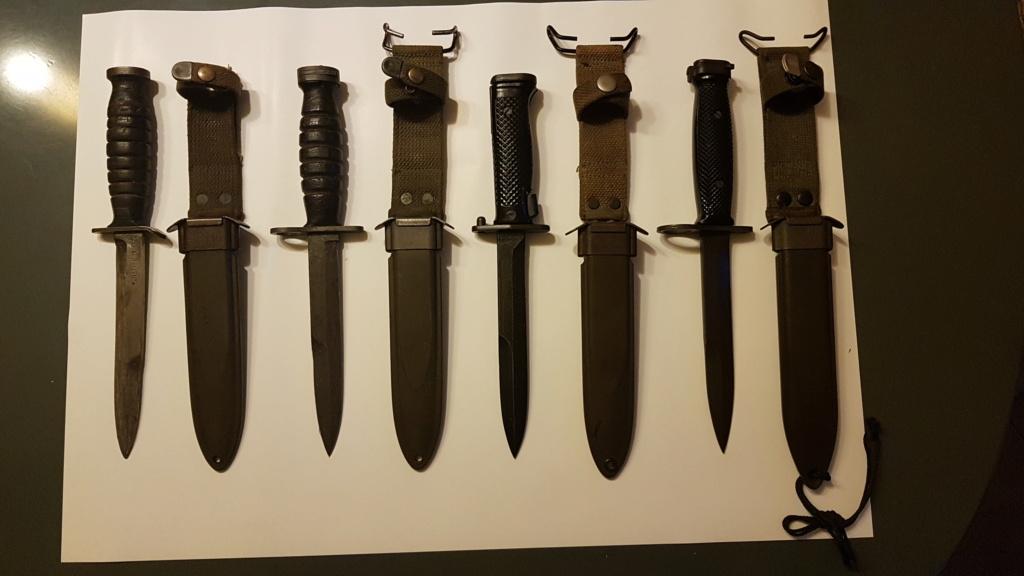 Mes quelques couteaux  20200710
