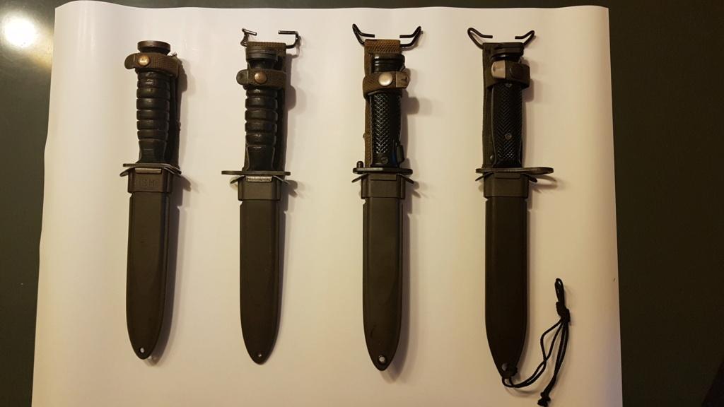 Mes quelques couteaux  20200711