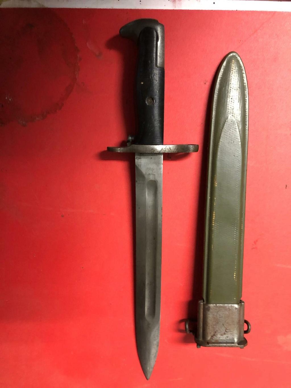 Baionette M1  et fourreau M7 à déterminer svp  Ardenn11