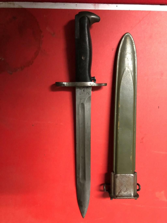 Baionette M1  et fourreau M7 à déterminer svp  Ardenn12