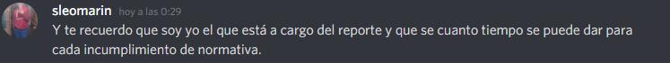 [Reporte] Leonardo Pou - Tomar reportes por Discord sin posibilidad de defenderme - Nulos conocimientos de la normativa y rol Unknow19