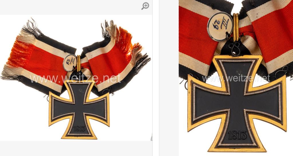 Grande croix de La Croix de fer en or.... 89efb710