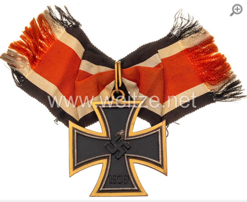 Grande croix de La Croix de fer en or.... B9ac1f10