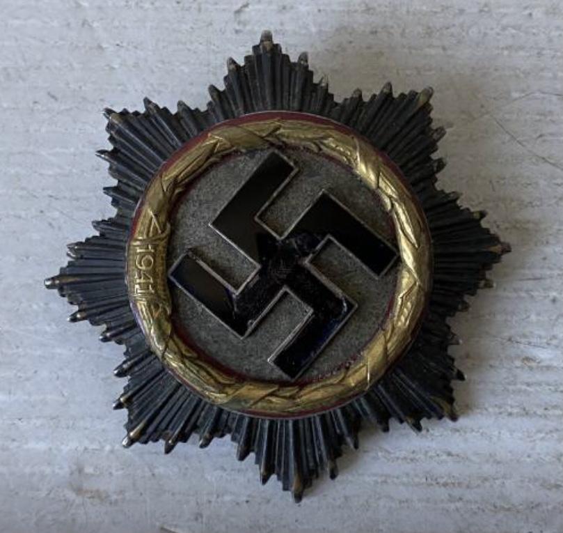 Avis croix allemande en or... Ec1eb710