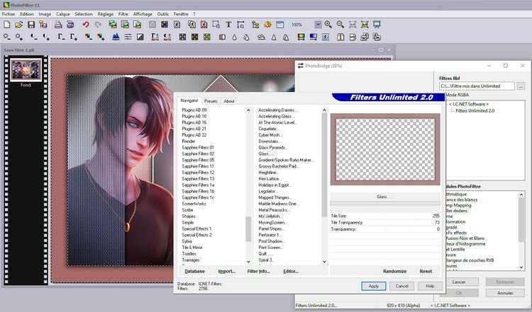 Version PhotoFiltre 11 ou Version PhotoFiltre Studio 10.4.1.  Que choisir ? - Page 2 11111