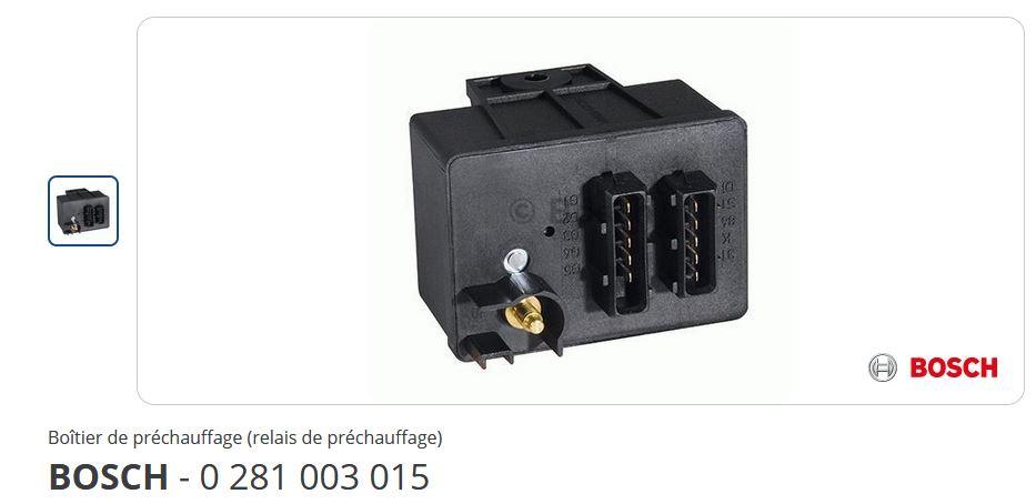 [ Fiat Doblo 1.9D an 2001 ] Démarrage difficile - Voyant préchauffage bougies Boitie10