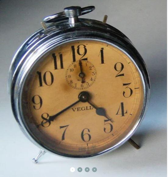 Reparação de relógio despertador antigo Captur10