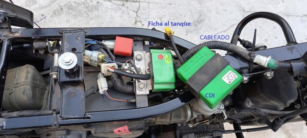 Instalacion alarma x28 M10 y M20 en Rouser 135 ls - Paso a Paso 210