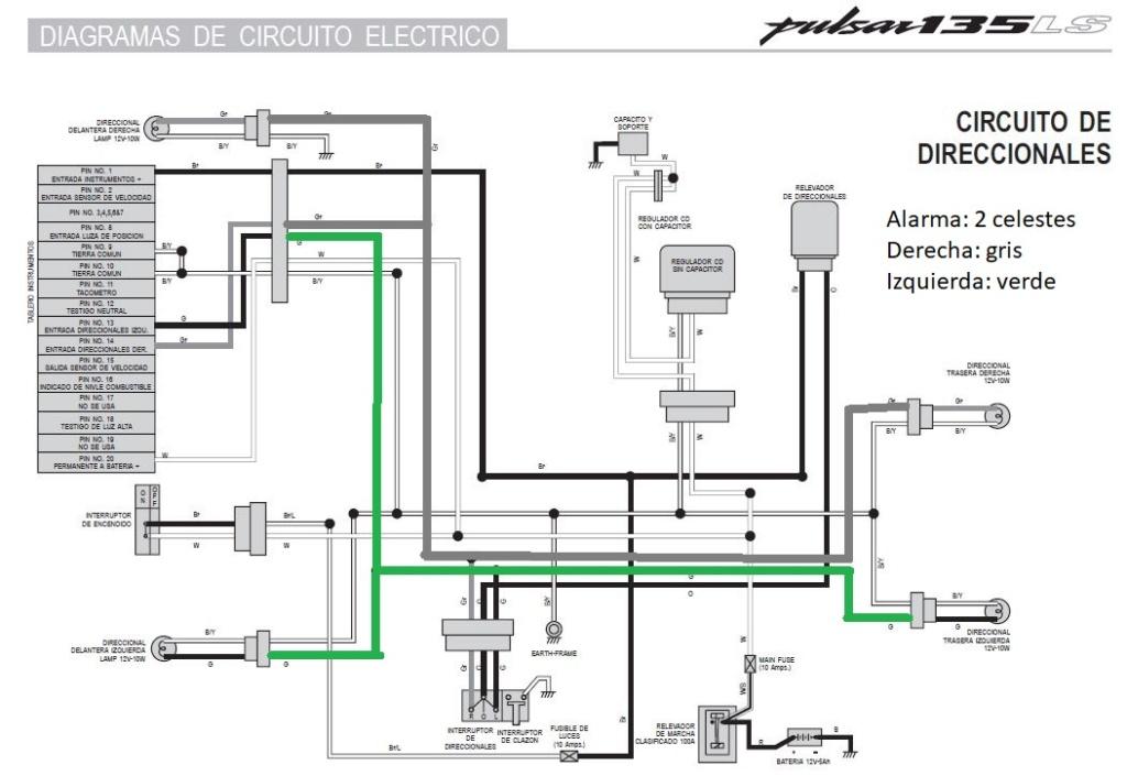 Instalacion alarma x28 M10 y M20 en Rouser 135 ls - Paso a Paso Interm10
