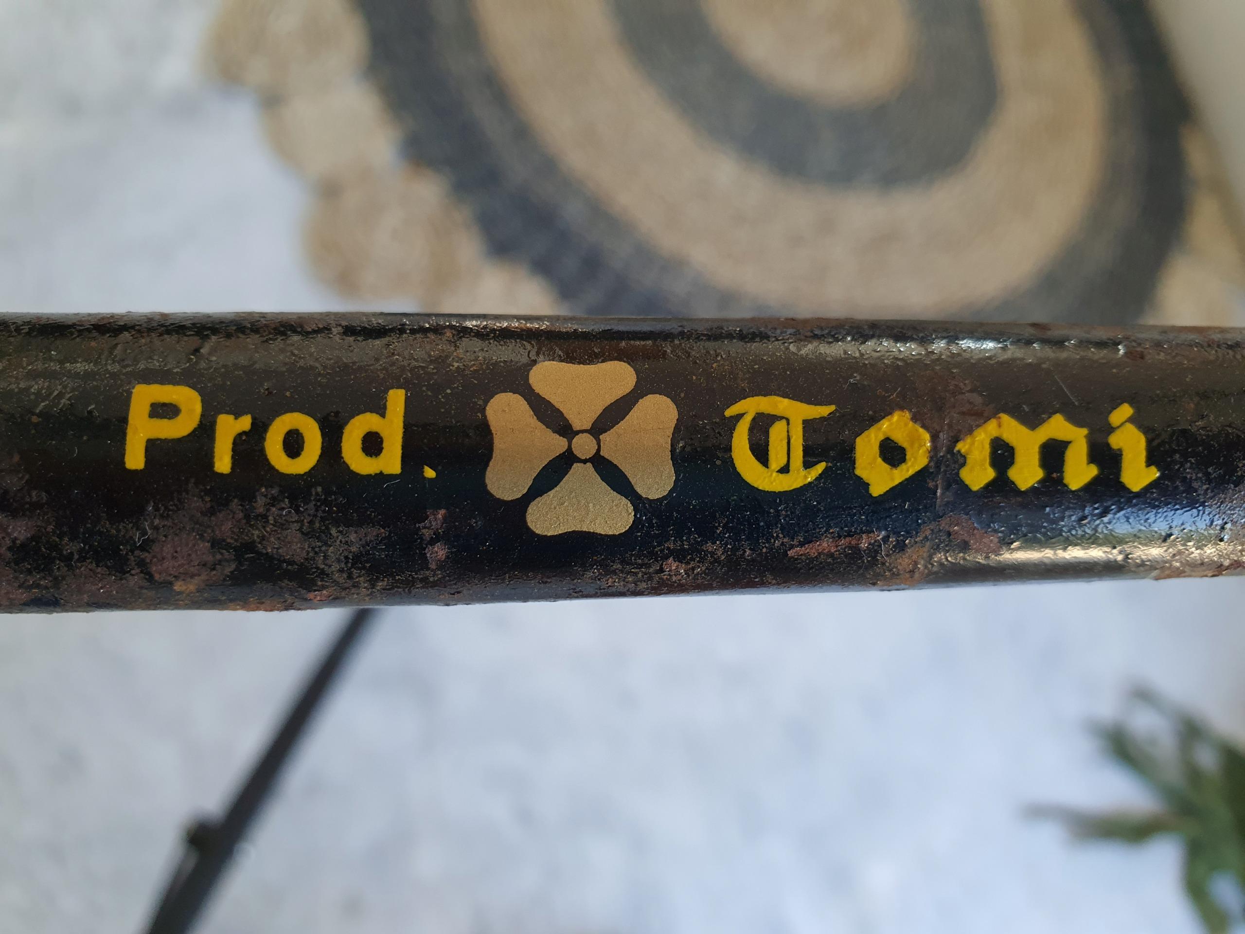 Restauration vélo TOMI 1977 (peut être). Cadre - peinture ou pas? 20211010