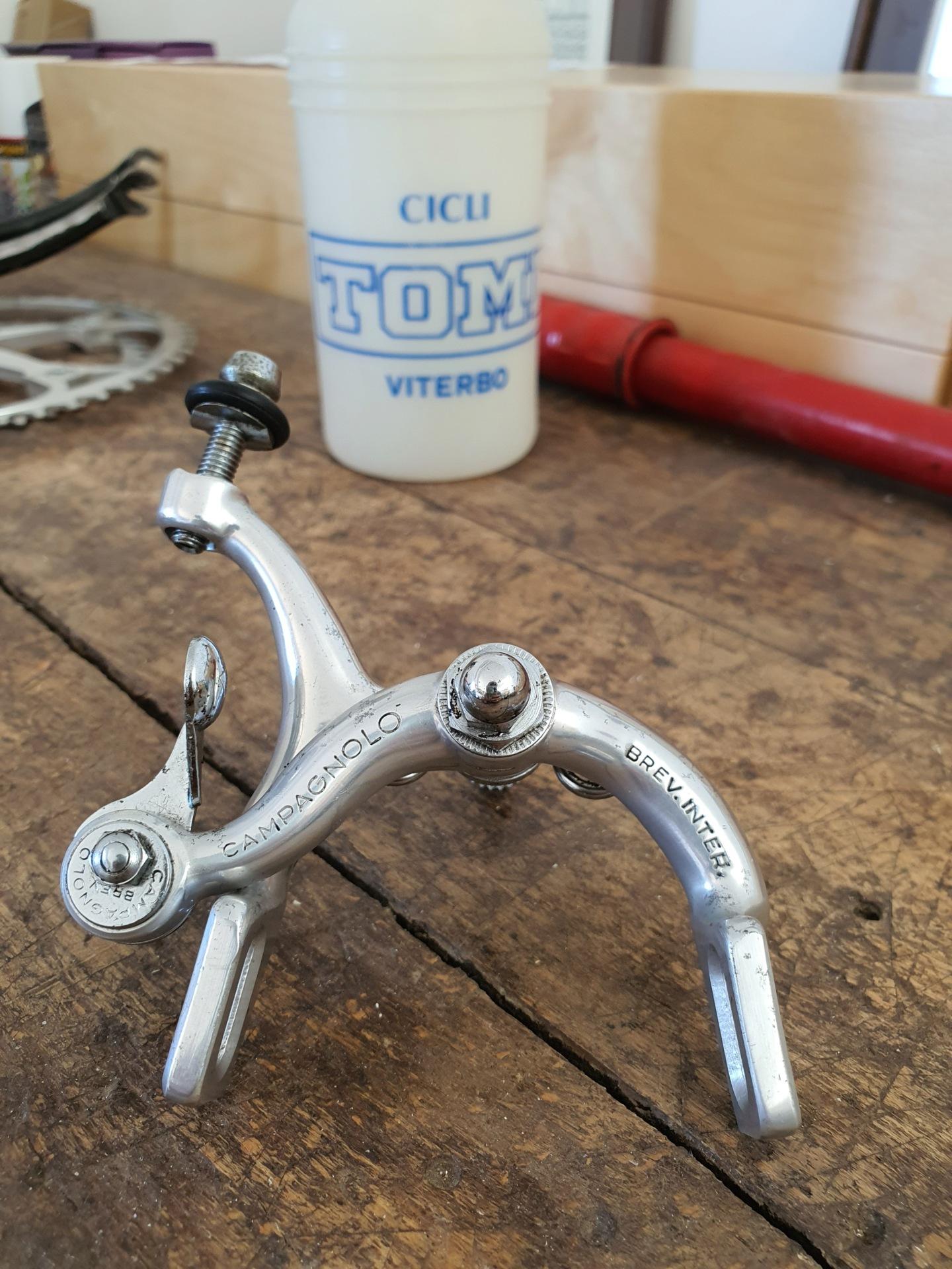 Restauration vélo TOMI 1977 (peut être). Cadre - peinture ou pas? 20211022