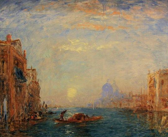 « Parfois les nuages reposent les gens d'admirer la lune » Venise10