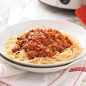 Votre souper en image... Spaghe11