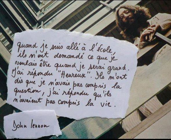 Vos poèmes et citations préférés Lennon10