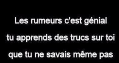 Vos poèmes et citations préférés Rumeur10