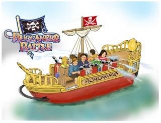 Buccaneer Battle à Six Flags Great America Battle10