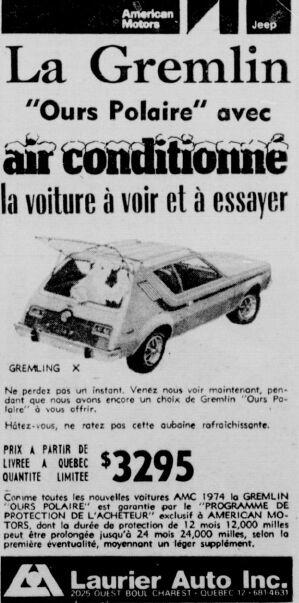 Les anciens dealers AMC du Québec Laurie10