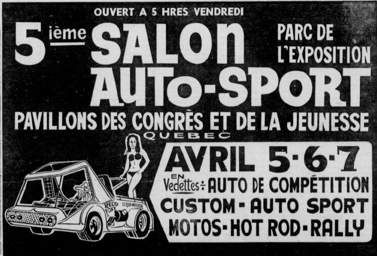 Salon Auto Sport Quebec 1974 Salona10
