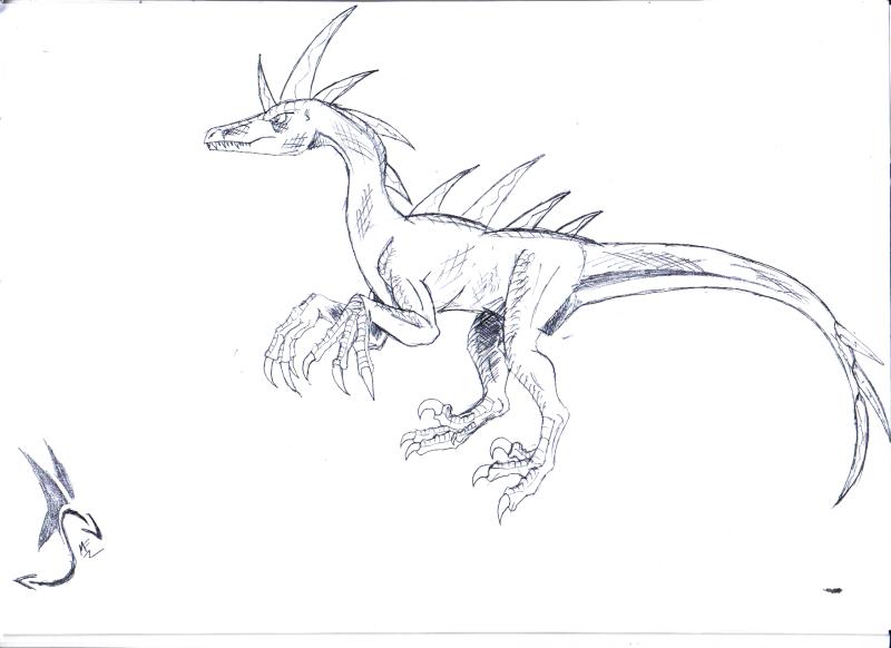 Cryoraptors, Pyroraptors, Rhéoraptors, Lithoraptors Pyrora11