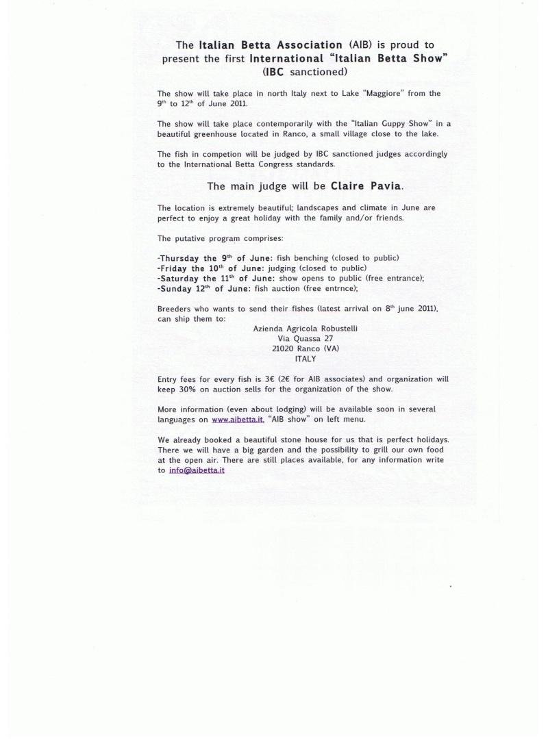 Ranco, Italie, Associazione Italiana Betta, 9-12.06.2011 00210