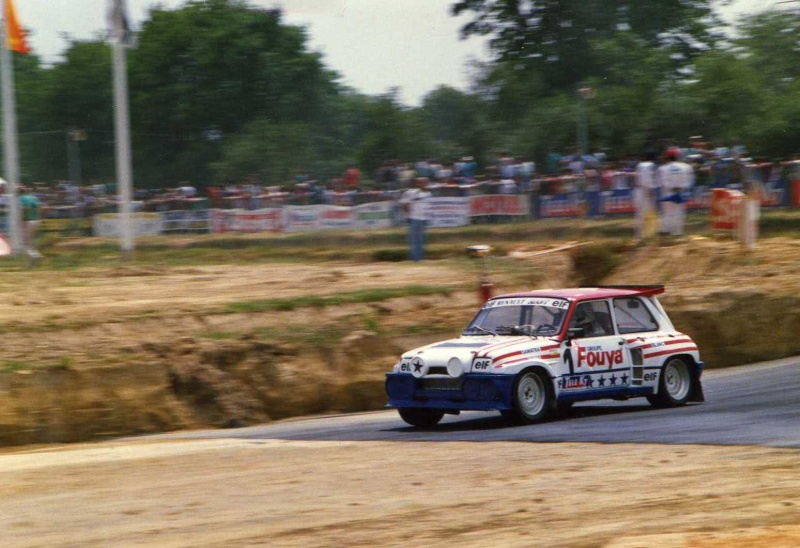 Renault 5 maxi Turbo Rallycross 1987 / 88  Gerard Rousel Img13610