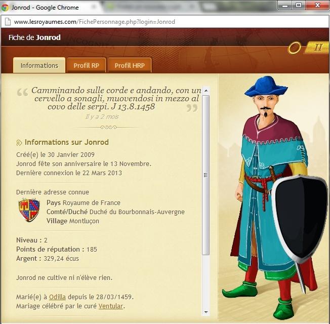 [17/03/1461] Brigandage Jonrod Jonrod10