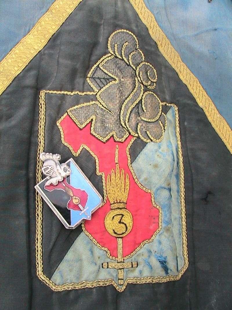 Fanion gendarmerie Indochine 3eme légion de marche Mars2010