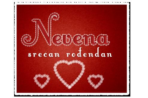 Nevena, sretan ti rodjendan Nena11
