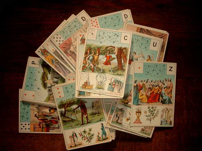 Le Grand Jeu Mythologique de Melle Lenormand Grandj10
