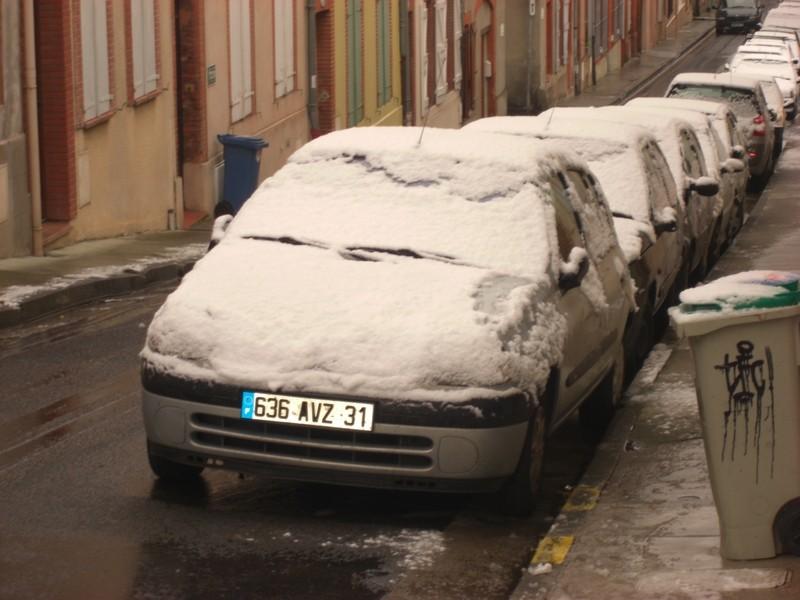 Dossier sur l'épisode neigeux du 26/12/08 à Toulouse Cimg0015