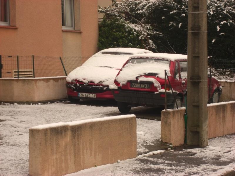 Dossier sur l'épisode neigeux du 26/12/08 à Toulouse Cimg0025