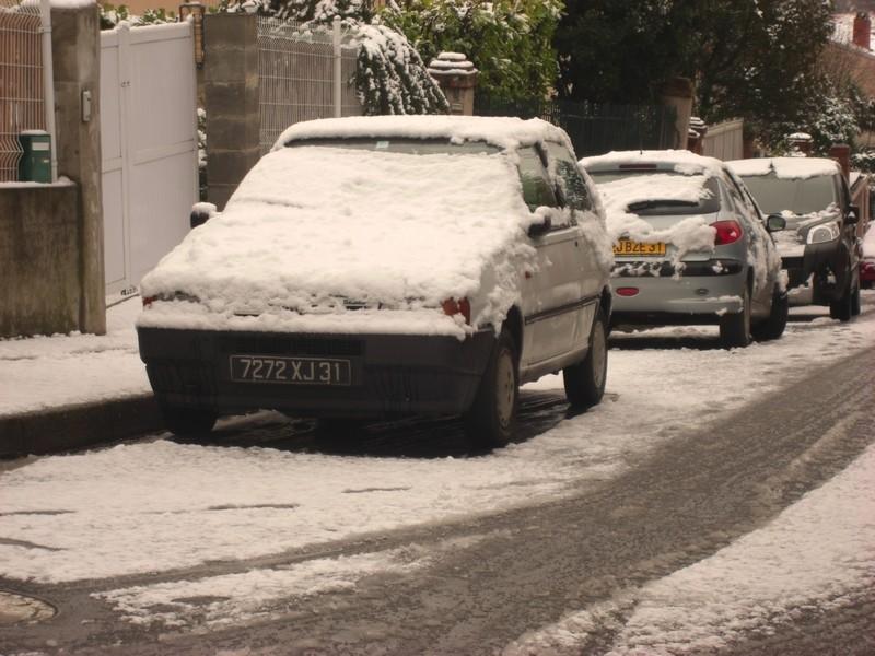 Dossier sur l'épisode neigeux du 26/12/08 à Toulouse Cimg0046