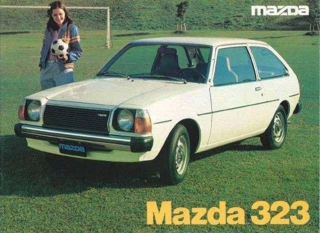 [MAZDA 323] mazda 323 1er generation ! 1977_m10
