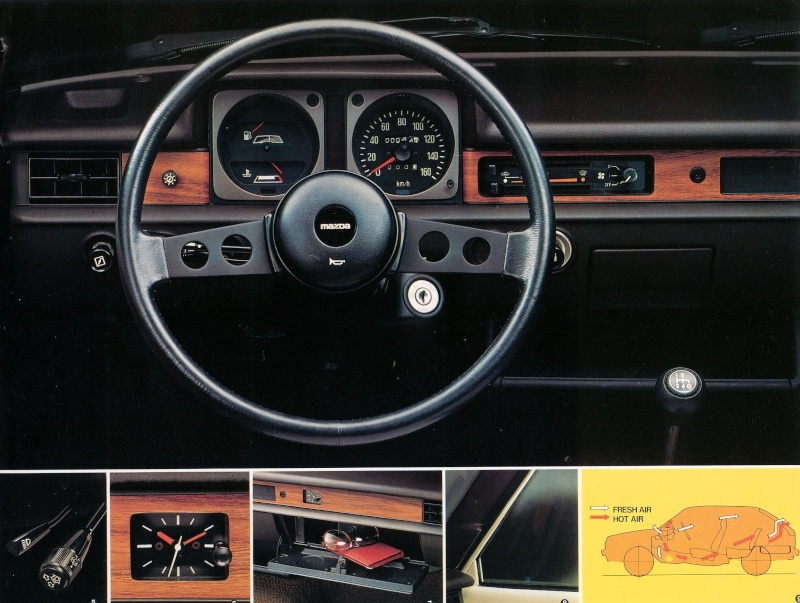 [MAZDA 323] mazda 323 1er generation ! 19782011