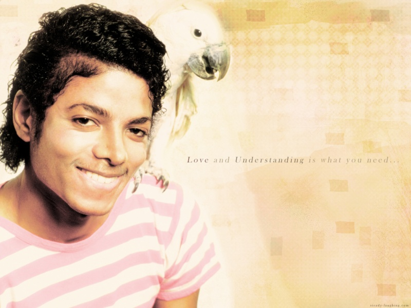 Collection MJ-Story : Michael et les animaux ^^ Wallpa10
