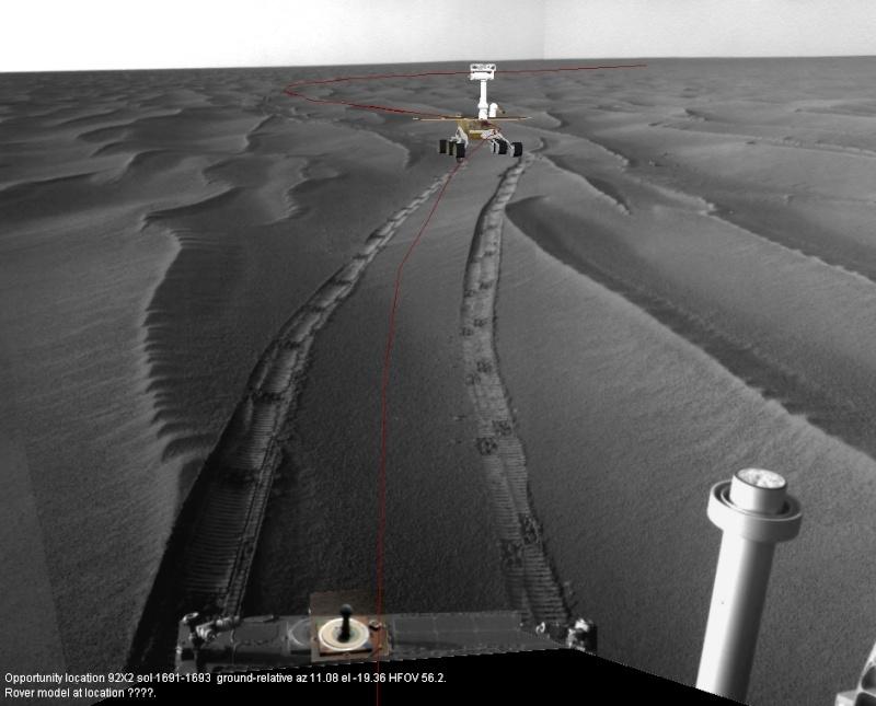 Opportunity va explorer le cratère Endeavour - Page 2 Opport10