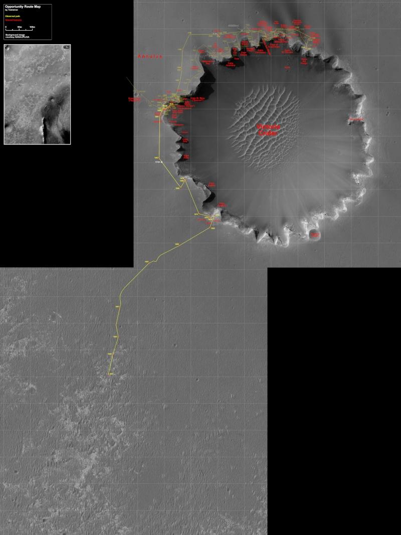 Opportunity va explorer le cratère Endeavour - Page 2 Route_10