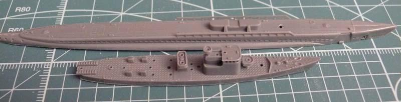 Gato & chasseur de sous-marins N°13 (1/700 Tamyia) 1111