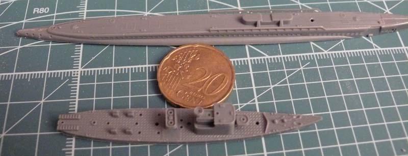 Gato & chasseur de sous-marins N°13 (1/700 Tamyia) 1211