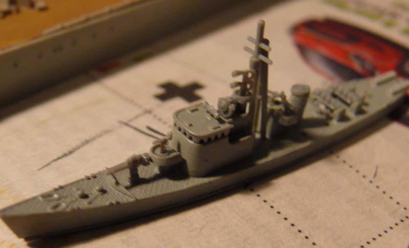 Gato & chasseur de sous-marins N°13 (1/700 Tamyia) 1411