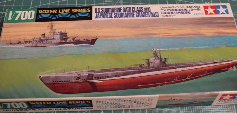 Gato & chasseur de sous-marins N°13 (1/700 Tamyia) 213